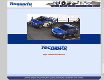 tecnauto.com screenshot