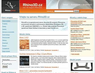rhino3d.cz screenshot