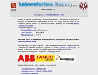 rab.ict.pwr.wroc.pl screenshot