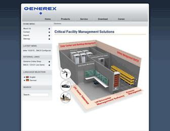 generex.de screenshot