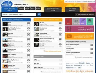 Thumbshot of Karaoke-version.co.uk