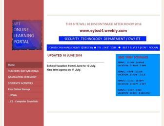sytssi4.weebly.com screenshot