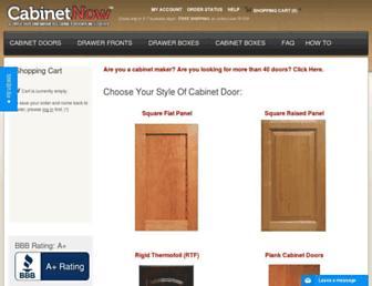 cabinetnow.com screenshot