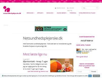 Thumbshot of Netsundhedsplejerske.dk