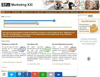 marketing-xxi.com screenshot