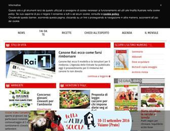 Main page screenshot of aamterranuova.it
