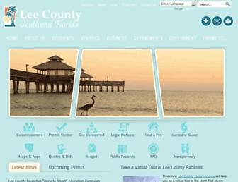 Thumbshot of Lee-county.com