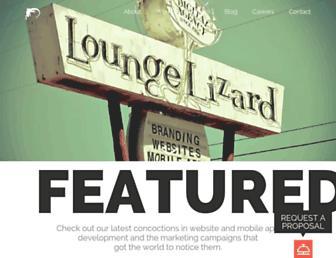 loungelizard.com screenshot