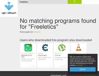 freeletics.en.uptodown.com screenshot