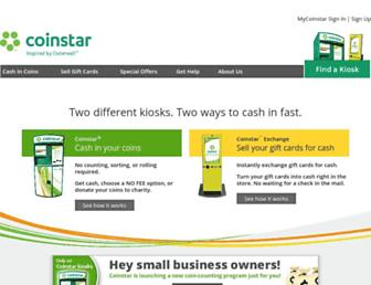 Thumbshot of Coinstar.com