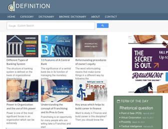 the-definition.com screenshot