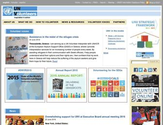 unv.org screenshot