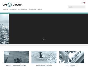 cpigroup.com screenshot