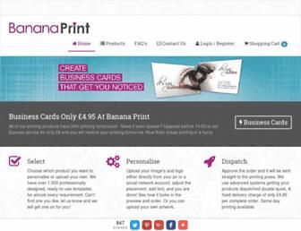 banana-print.co.uk screenshot
