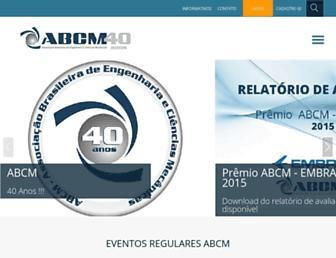abcm.org.br screenshot