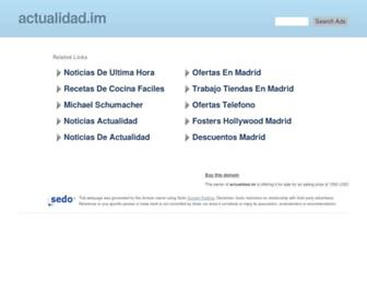 Thumbshot of Actualidad.im