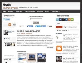maycmv.blogspot.com screenshot