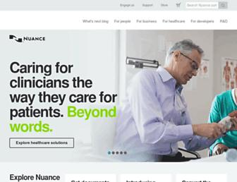 Thumbshot of Nuance.com