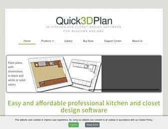 en.quick3dplan.com screenshot