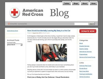 Main page screenshot of redcrosschat.org
