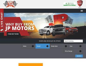 jpmotors.com screenshot