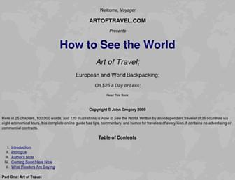 Thumbshot of Artoftravel.com