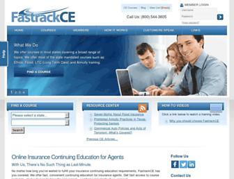 fastrackce.com screenshot