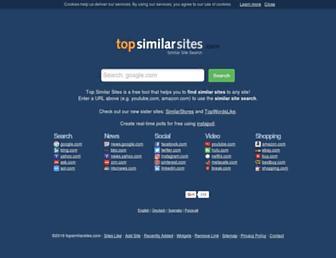 topsimilarsites.com screenshot