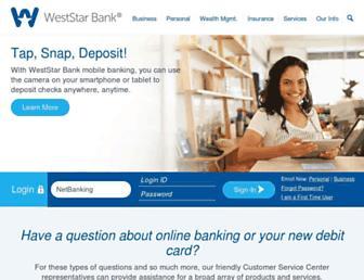 weststarbank.com screenshot
