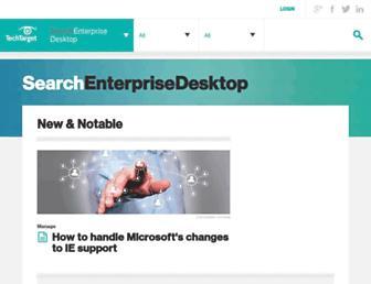 searchenterprisedesktop.techtarget.com screenshot