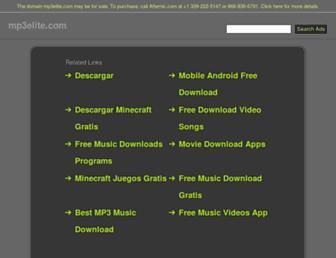 mp3elite.com screenshot