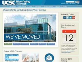 ucsc-extension.edu screenshot