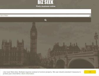 bizseek.co.uk screenshot
