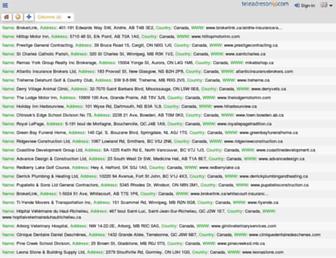 teleadreson.com screenshot