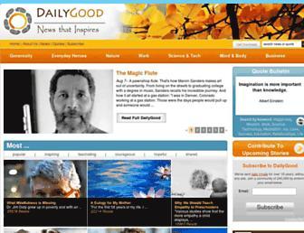 dailygood.org screenshot