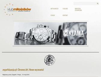 Thumbshot of Zegarkiclub.pl