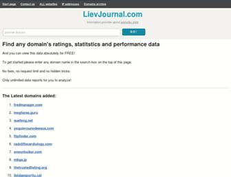 lievjournal.com screenshot