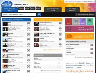 Thumbshot of Karaoke-version.com
