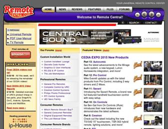 Thumbshot of Remotecentral.com