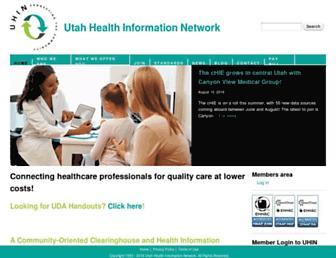 uhin.org screenshot