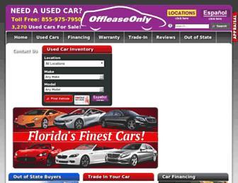 offleaseonly.com screenshot