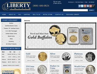 Thumbshot of Libertycoin.com