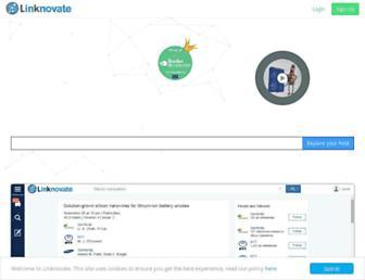 linknovate.com screenshot