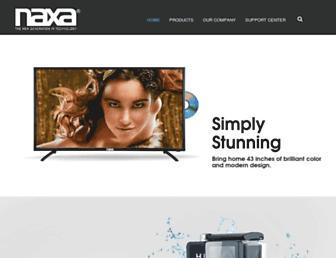 naxa.com screenshot