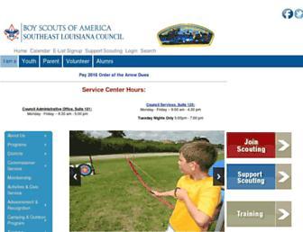 bsa-selacouncil.org screenshot