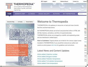 thermopedia.com screenshot