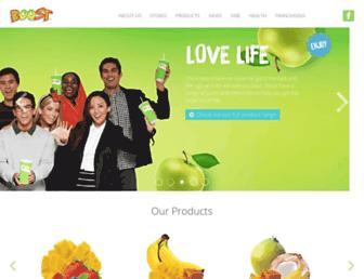 boostjuicebars.com.my screenshot