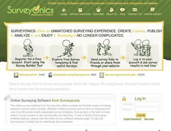 surveyonics.com screenshot