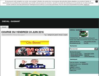 cheval-gagnant.centerblog.net screenshot
