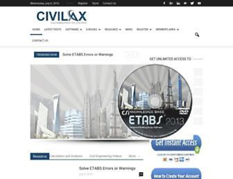 civilax.com screenshot
